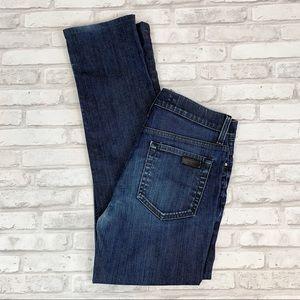 Joe's Jeans The Brixton Dark Wash Mid Rise Sz 29